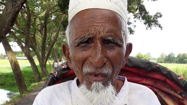 আখাউড়ায় ১১৭ বছর বয়সী বৃদ্ধের বৈধ নাল ভূমি জবর দখলের অপচেষ্টা