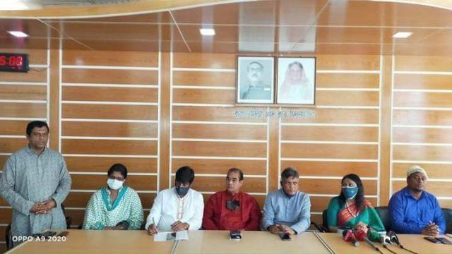 ব্রাহ্মণবাড়িয়া প্রেস ক্লাব পরিদর্শনে জাতীয় প্রেস ক্লাবের প্রতিনিধি দল